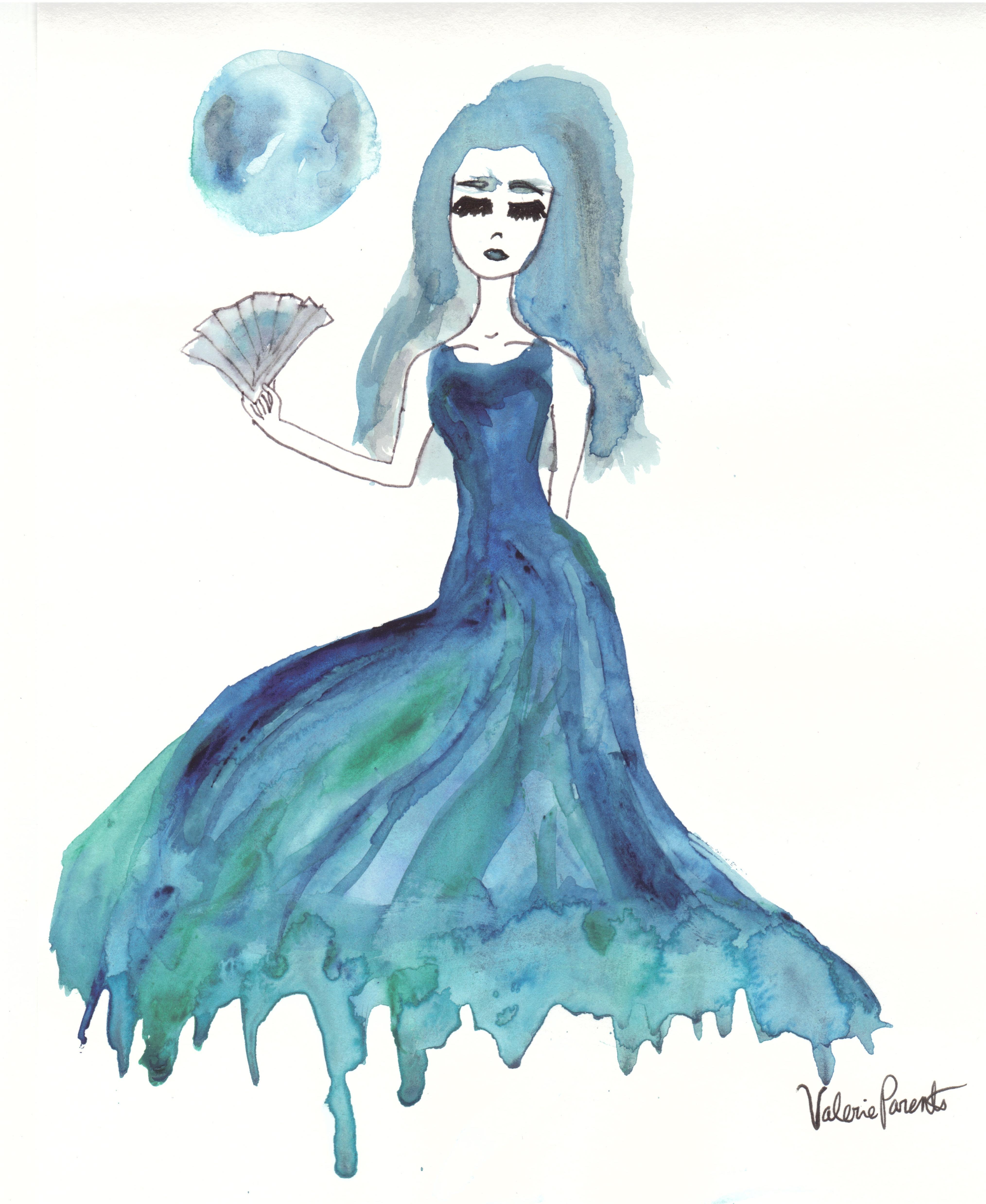 """""""Full Moon Morose"""" by Valerie Parente"""