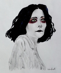 """Heather Baron-Gracie - Pale Waves"" by Valerie Parente"
