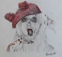 """Maria Brink - I Am The Dirt You Created"" by Valerie Parente"