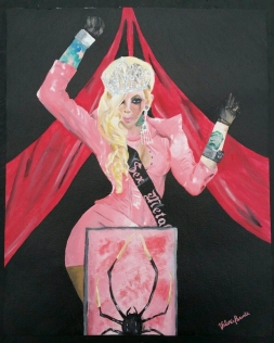 """Maria Brink - Sex Metal Barbie"" by Valerie Parente"