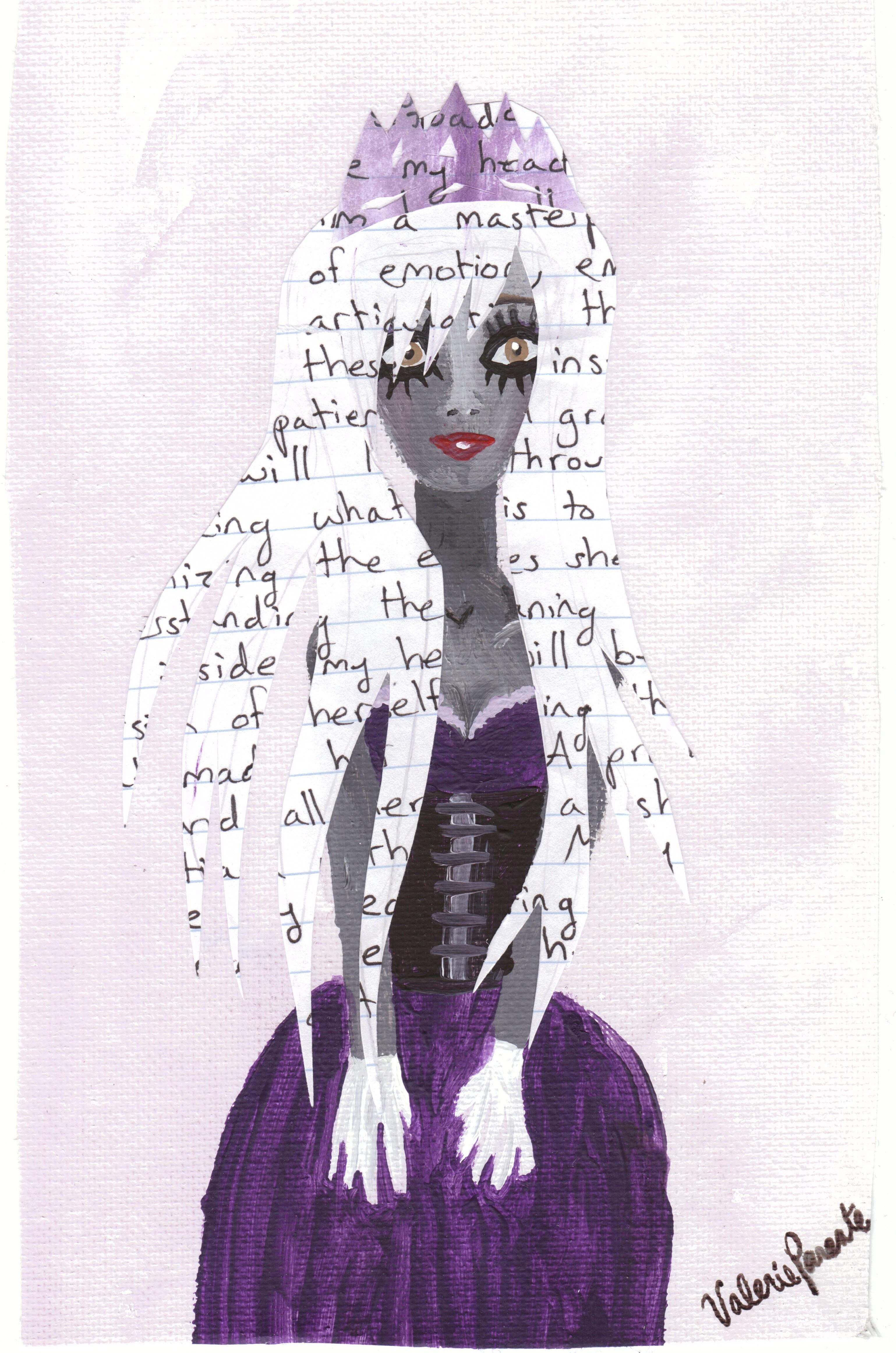 when she wears the tiara